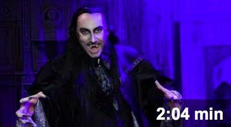 Marian Vojtko vyměnil masku Fantoma opery za upírskou: Jak mu to sluší s ostrými špičáky a drápy?