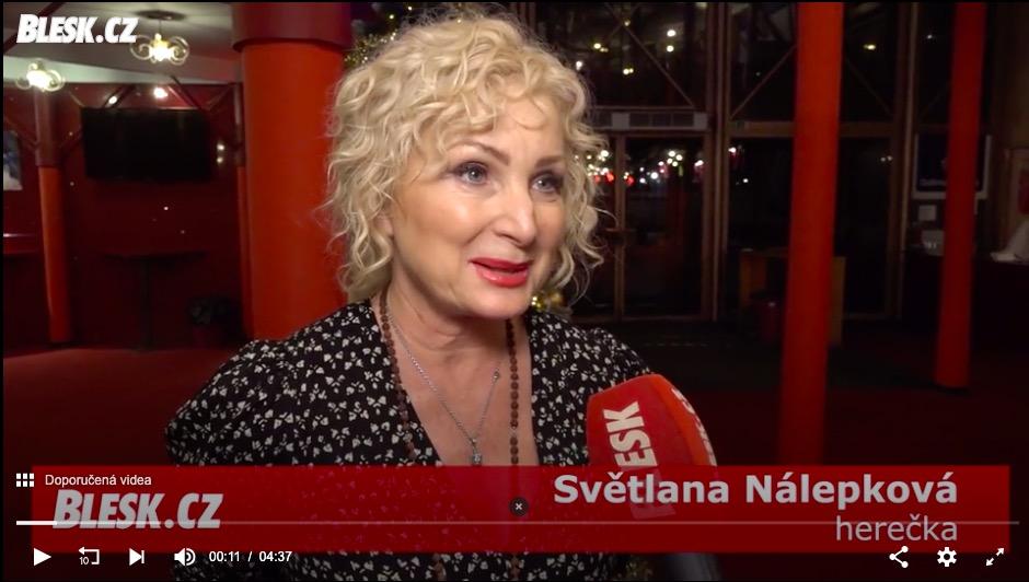 Světlana Nálepková: Vánoce začínám chystat až 22. prosince!